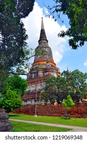 Wat Yai Chai Mongkhon in Ayutthaya, Thailand