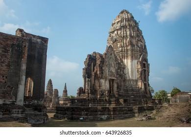 Wat Yai historical park , Lopburi , Thailand