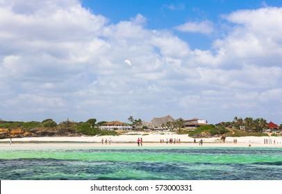 Watamu beach view. Malindi region, Kenya.