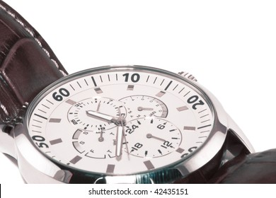 Watch with additional functions on a white background