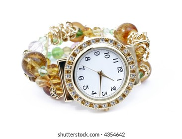 Watch isolated on the white background