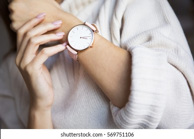 Watch on hand
