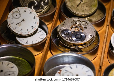 Watch Repair Shop: Effects of Time on Collection of Old, Broken and Discarded Watches