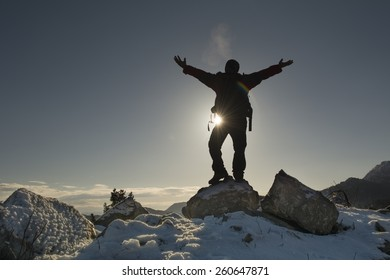 watch the sunrise from the summit
