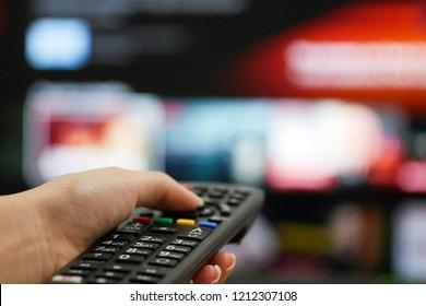 watch television remote