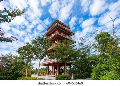 Watch tower in Linchunlin park, Sanya