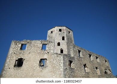 watch tower in Pocitelj fortified town, Bosnia and Herzegovina
