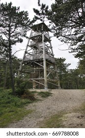 watch tower in the wood