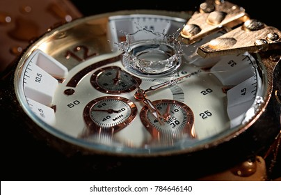 Watch Water Clock Time