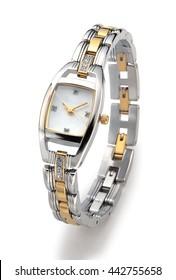 watch wrist woman clock elegance jewelry female fashion hand metal silver ladies