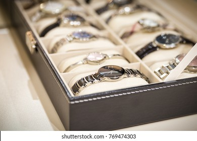 Watches in box