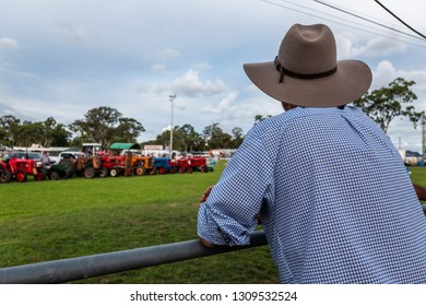 watching the country show, grand parade and opening ceremony