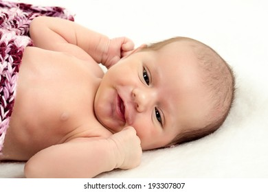 watching newborn baby - the first week of the new life