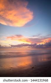 Watching the sunset on Sanibel Island