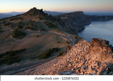 The Watchman, Crater Lake National Park, Oregon, USA