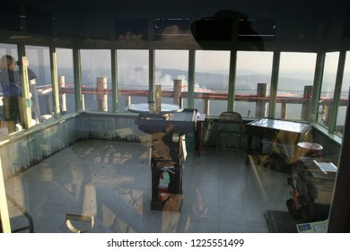 Watchman fire lookout, Crater Lake National Park, Oregon, USA