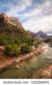 The Watchman in Zion National Park, Utah