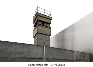 Watchtower at Berlin wall