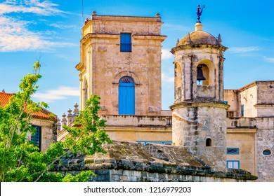 Watchtower of La Fuerza castle, Havana.