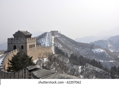 Watchtower on the Great Wall at Badaling near Beijing, China