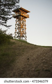 Watchtower on a hill