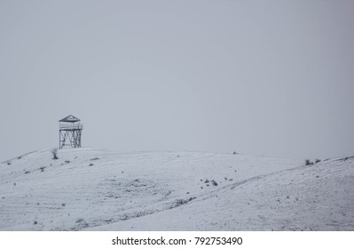 watchtower on the hill