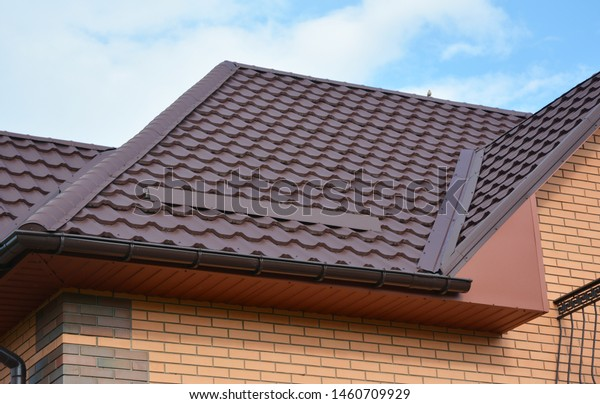 Wateproofing Roof Problem Area Metal Roof Stock Photo Edit Now
