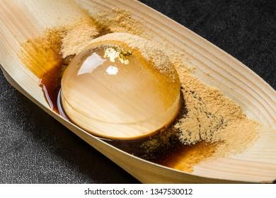 water agar japanese foods