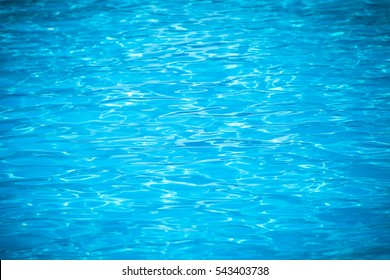 Water and air bubbles over blue background,sea wave.