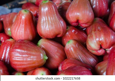 Water apple on market stall in Hoi An, Vietnam.