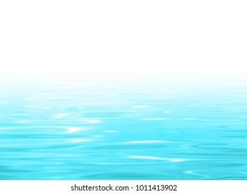 Water background gradient blue white - swimming pool surface