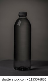 Water Bottle B/W with shadows
