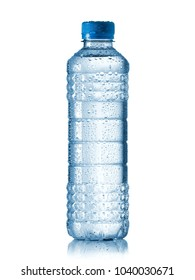 Water bottle with drops