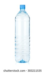Water bottle. Isolated on white background