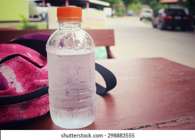 Water bottle with sports bag