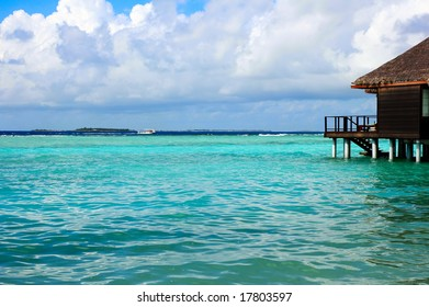 Water Bungalow on an maldivian island
