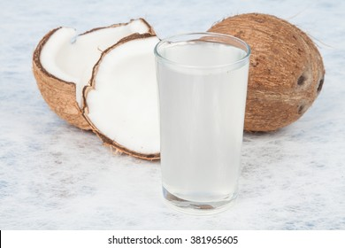 water of coconut