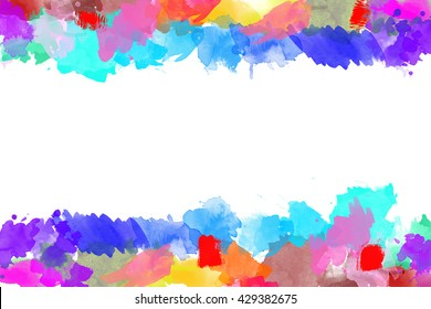 Water color frame