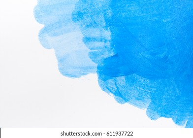 Water color on white paper drawing texture background