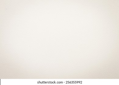 Water color paper background watercolor painting texture in light white cream sepia