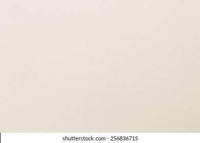 Water color paper texture background in white cream color