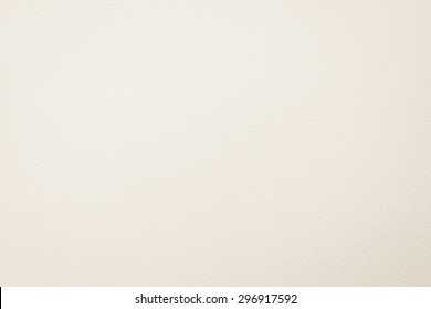 Water color paper textured background in light beige creme white color