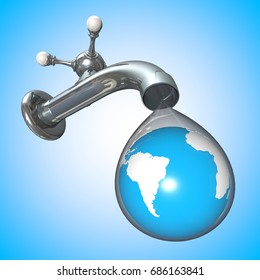 Water Conservation Tap