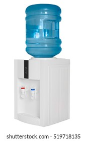 water cooler isolated on white background