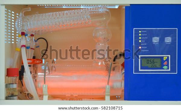 Water Distillation Unit with Metal Heater / Water Distillation Unit