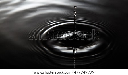 48e1cd2a2bef8 Water Drop Dark Tone Stock Photo (Edit Now) 477949999 - Shutterstock