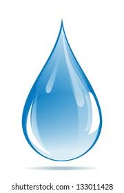 Water drop. JPEG version