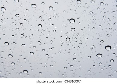 water droplet in closeup background