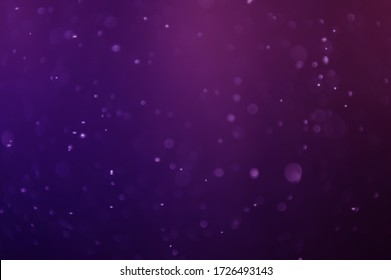 Water droplets that were turned into purple bokeh