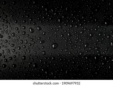 Water drops black background, image , wallpaper , photo